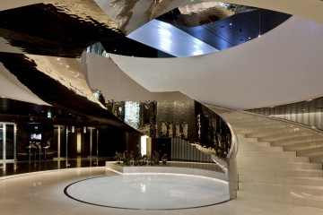 Vienna Donau City Tower Lobby